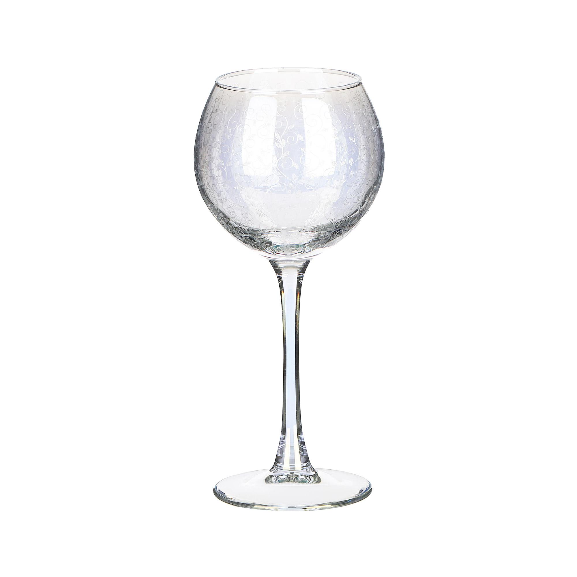 Набор фужеров Glasstar Весенний 280 мл 6 шт набор стаканов glasstar графитовый омбре 310 мл 6 шт