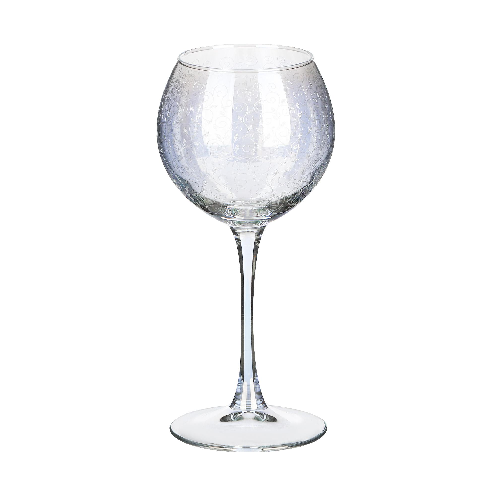 Набор фужеров Glasstar Весенний 350 мл 6 шт набор стаканов glasstar графитовый омбре 310 мл 6 шт