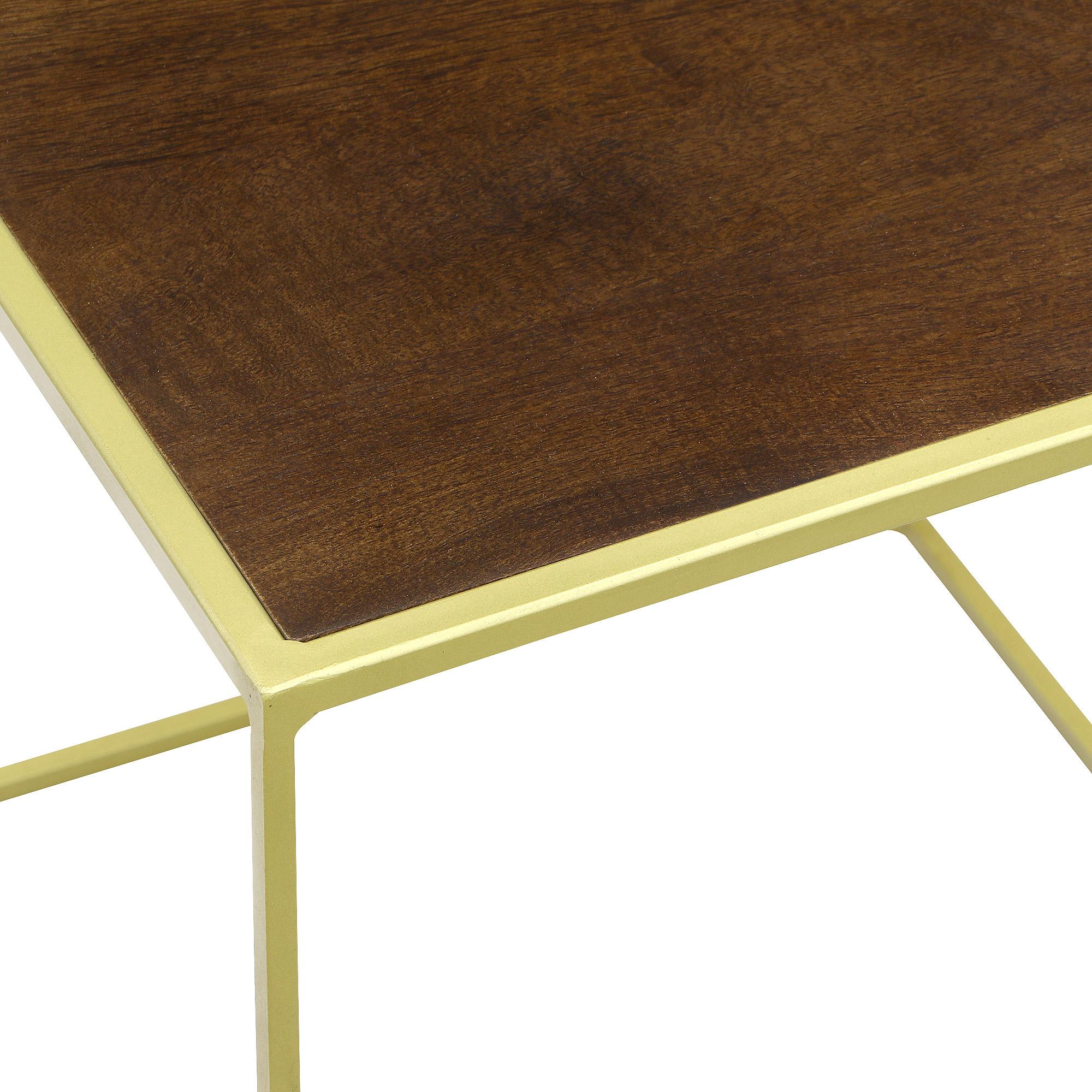 Столик приставной Edelman jailey 36х36см 36см коричневый