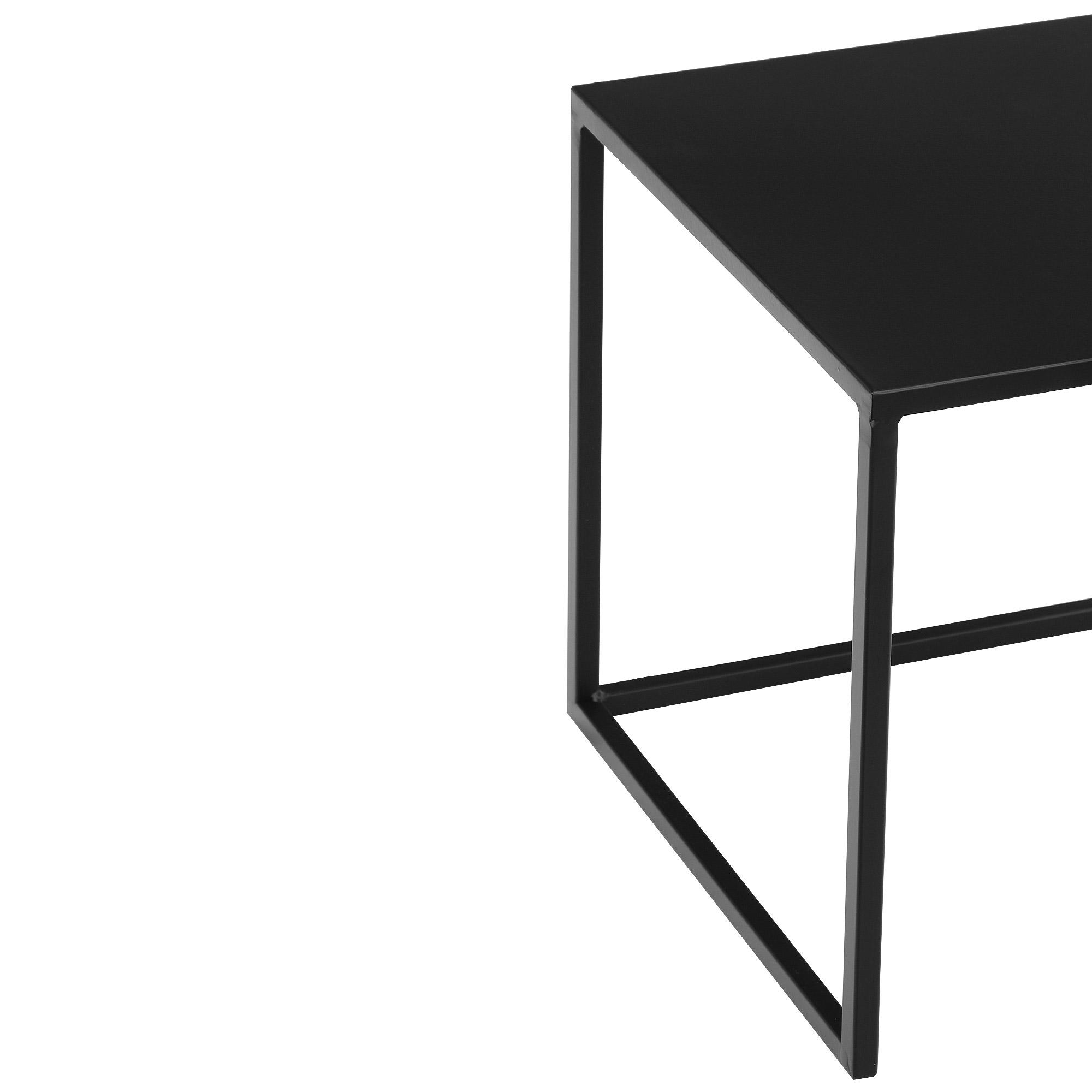 Столик приставной Edelman goa 35х35см 33см чёрный