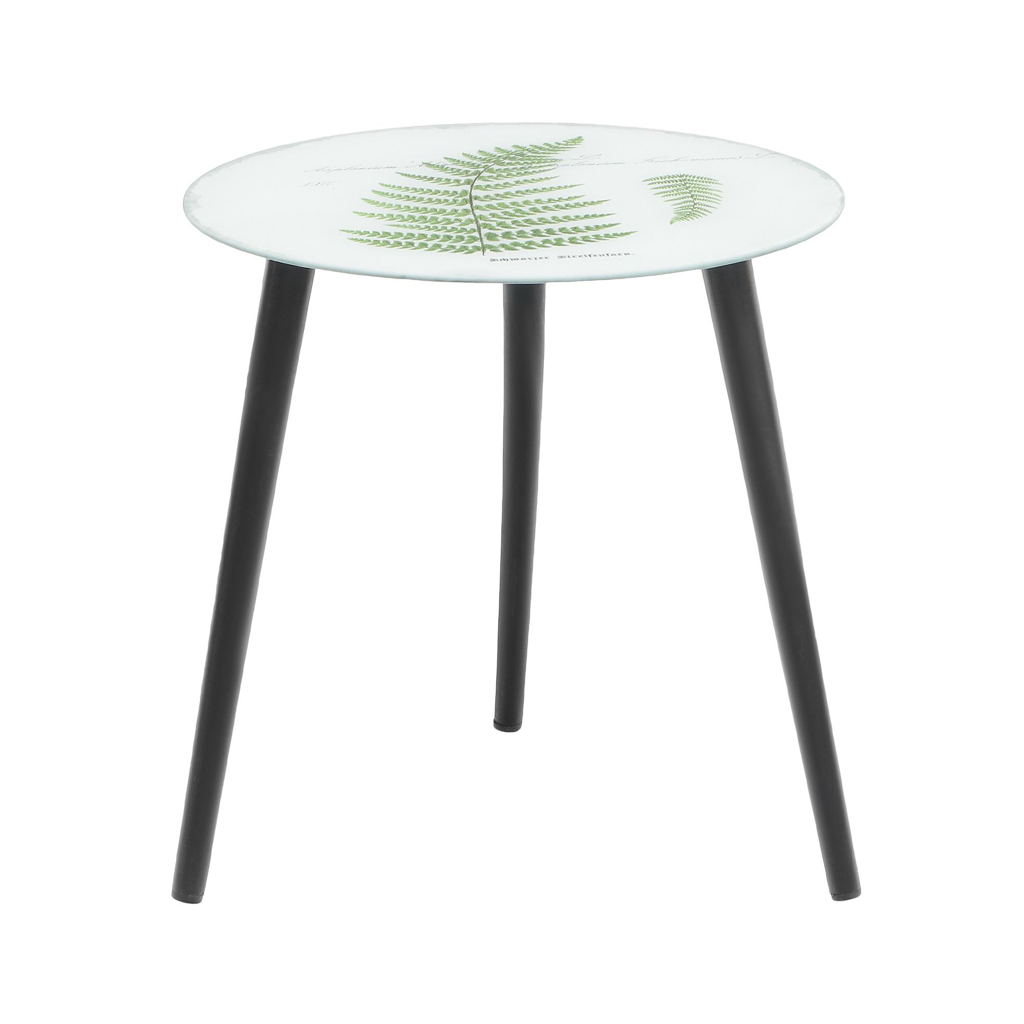 Столик кофейный Bizzotto furniture Leaves 40х40х40 см liberty home кофейный столик duval gold