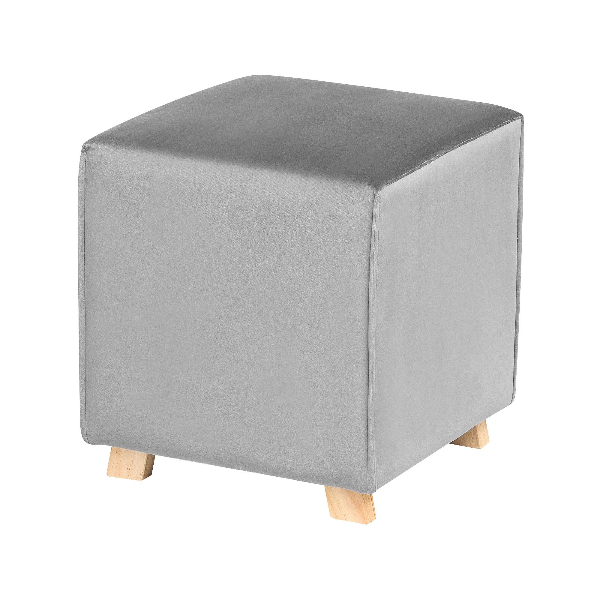 Пуф Bizzotto furniture Adeline серый