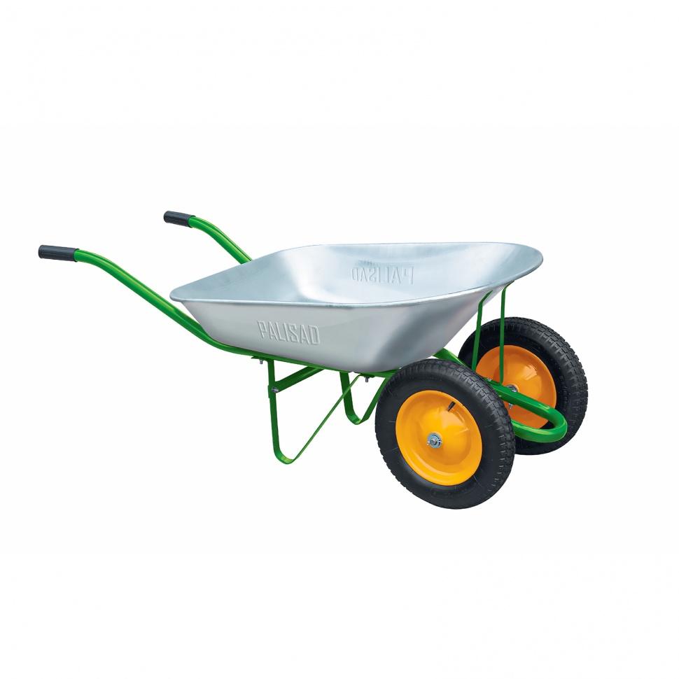 Тачка садовая Ми два колеса объем 78 л тачка садово строительная ми объем 90 л