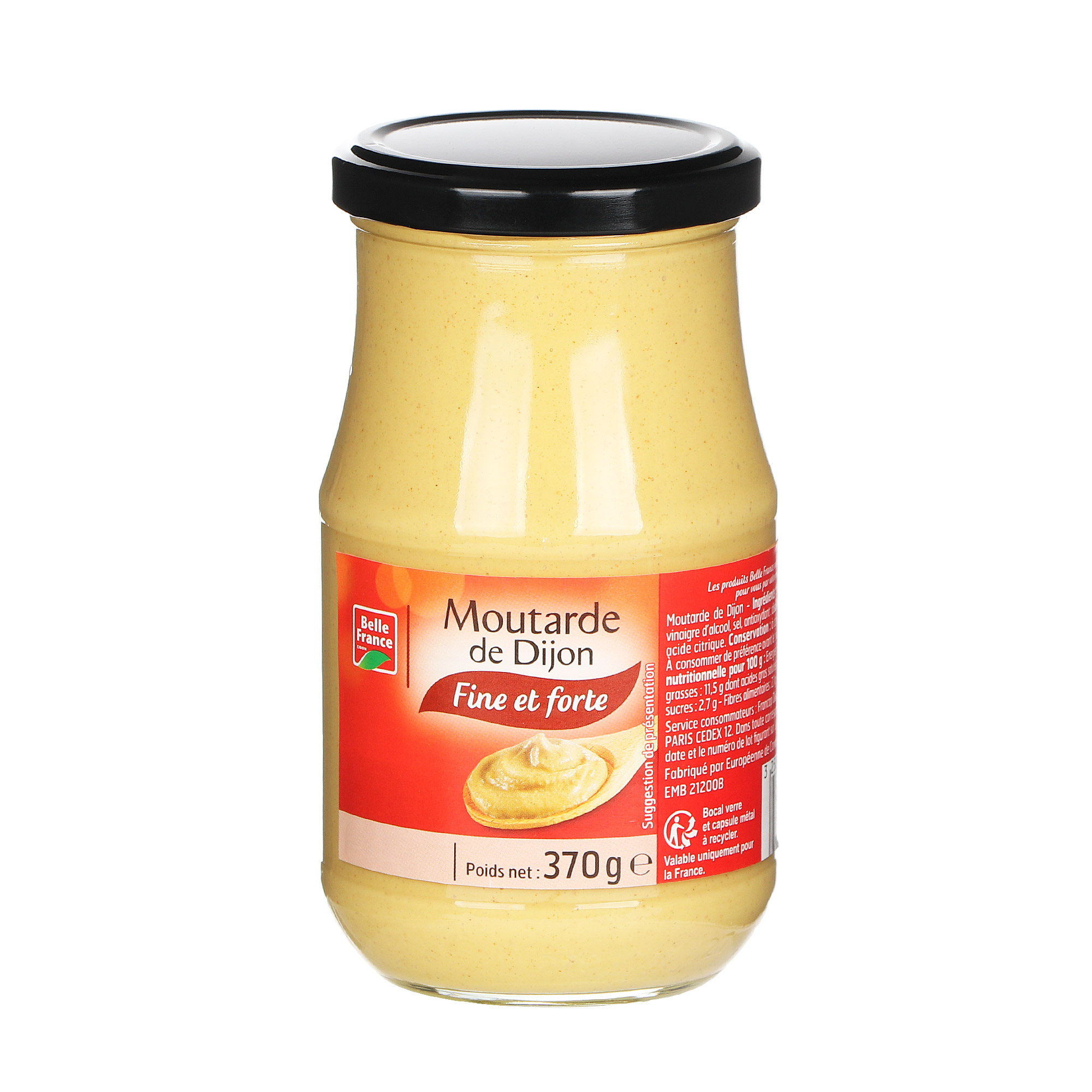 Горчица дижонская Belle France 370 г