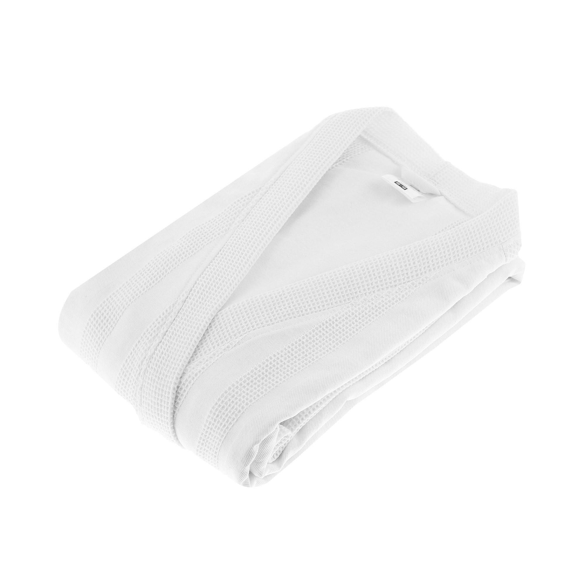 Халат Home style белый вафельный 46-48
