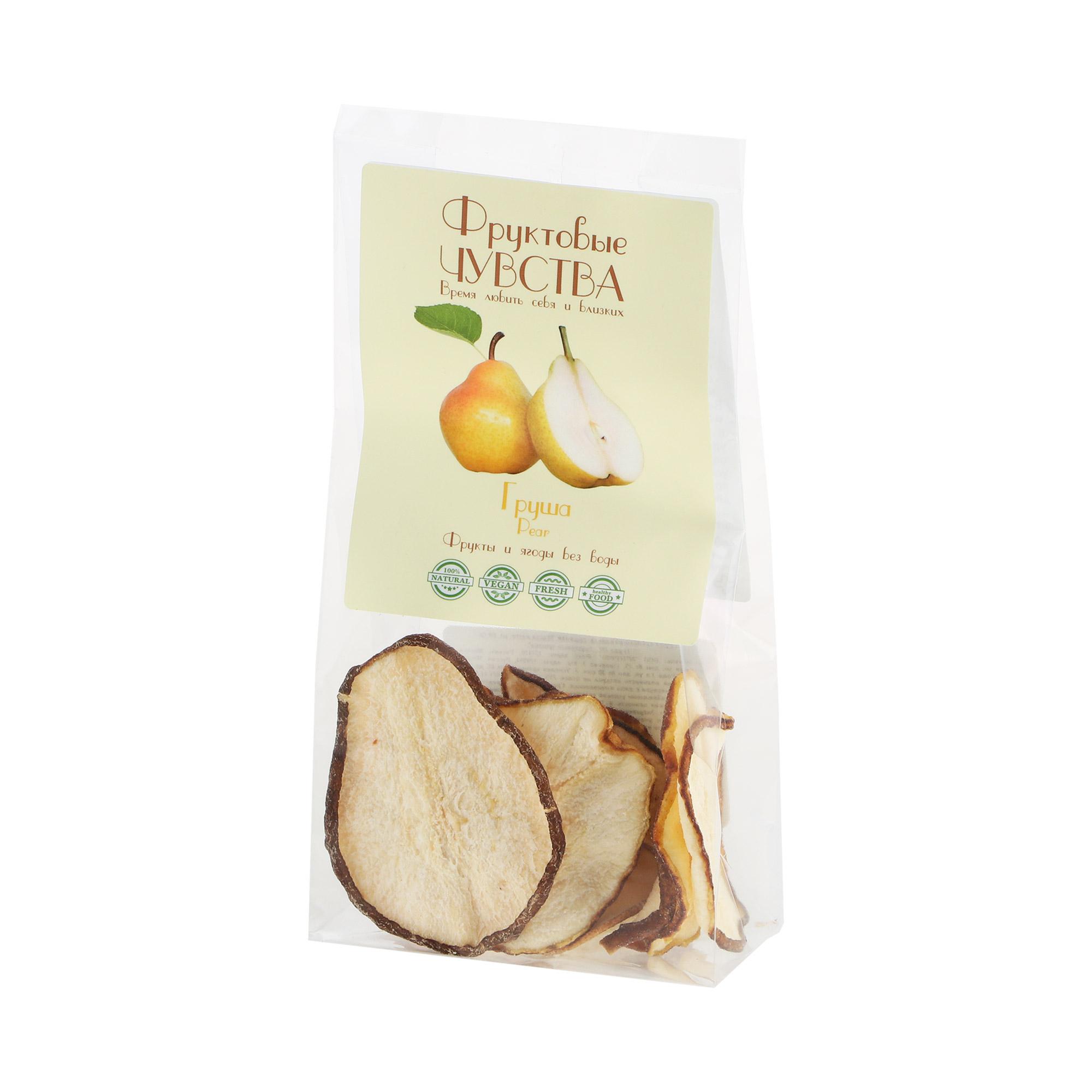 Груша Фруктовые чувства сублимированная 60 г малина сублимированная snack