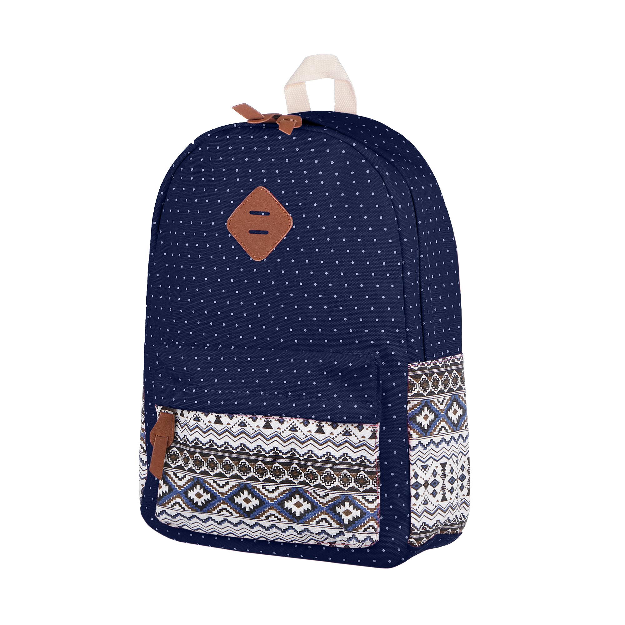 Рюкзак Baoding синий этно 30x42x14cm рюкзак chill синий деним