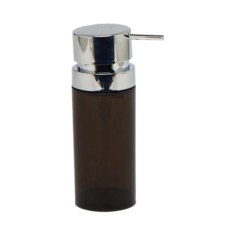 Фото - Дозатор Primanova Lenox для жидкого мыла прозрачно-дымчатый 0,3 мл дозатор primanova lenox для жидкого мыла черный 0 3 мл