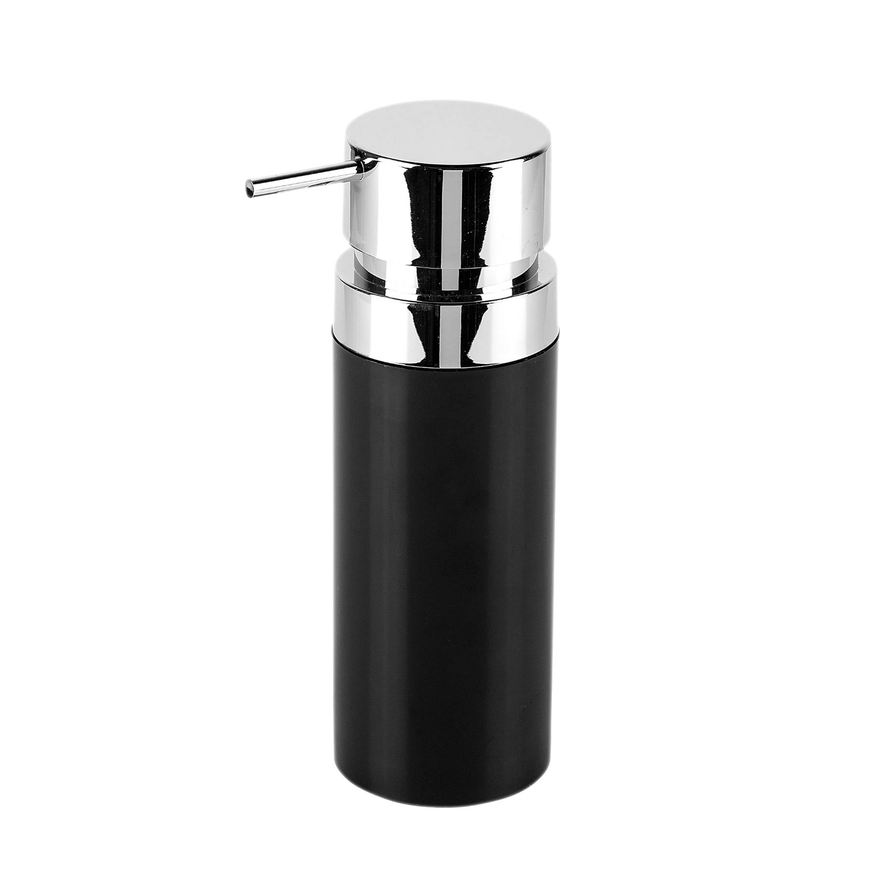 Фото - Дозатор Primanova Lenox для жидкого мыла черный 0,3 мл дозатор primanova lenox для жидкого мыла черный 0 3 мл