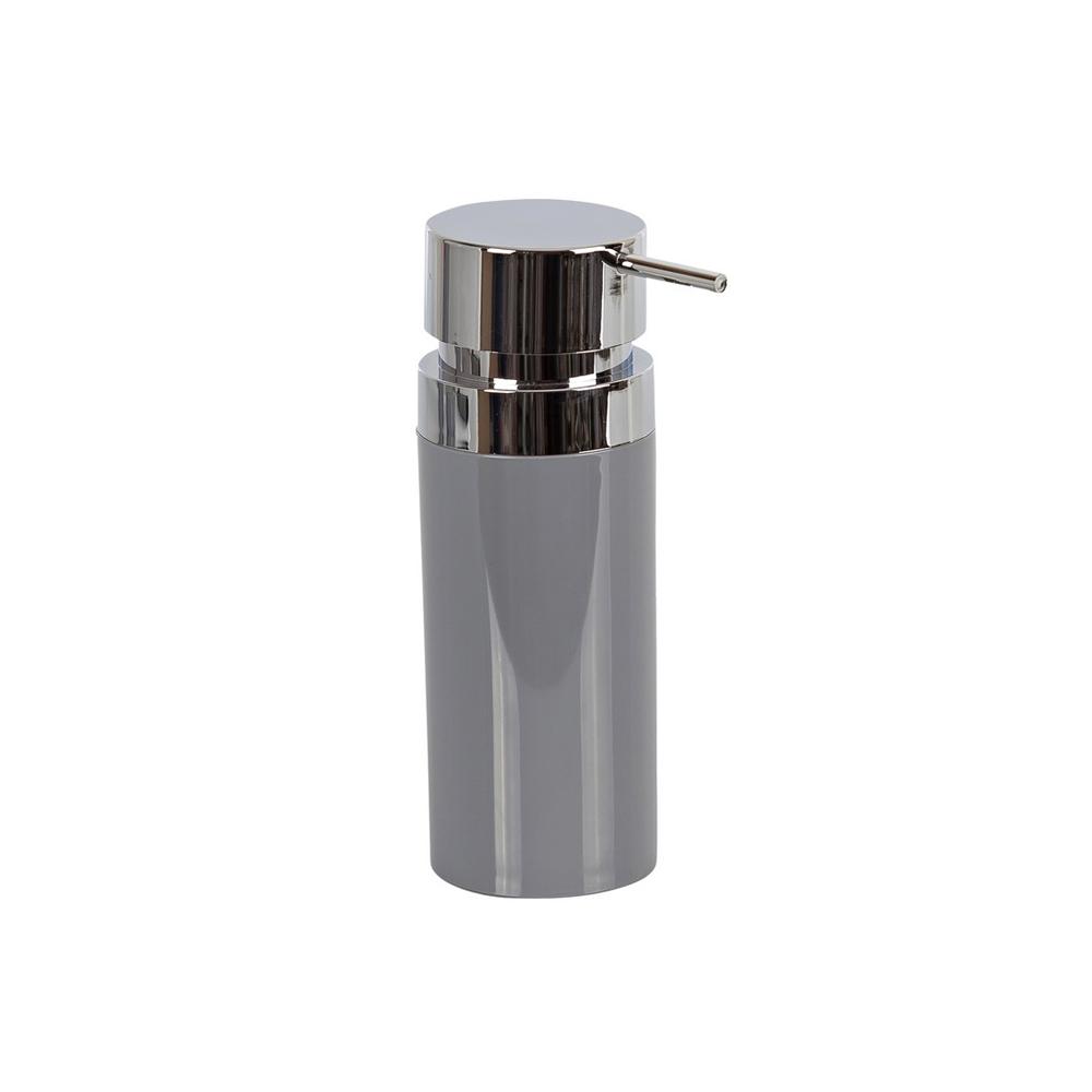 Фото - Дозатор Primanova Lenox для жидкого мыла серый 0,3 мл дозатор primanova lenox для жидкого мыла черный 0 3 мл