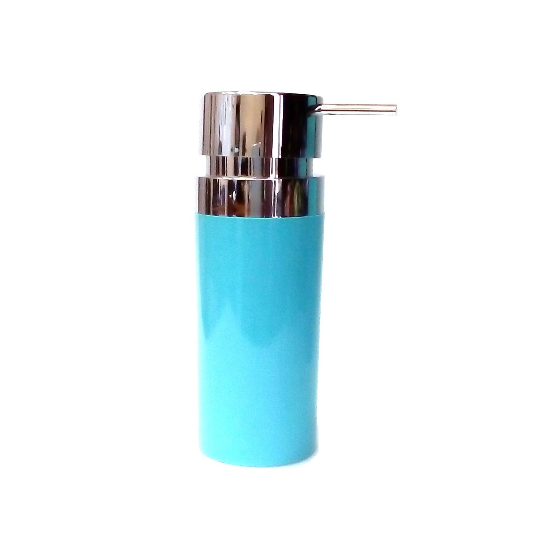 Фото - Дозатор Primanova Lenox для жидкого мыла голубой 0,3 мл дозатор primanova lenox для жидкого мыла черный 0 3 мл