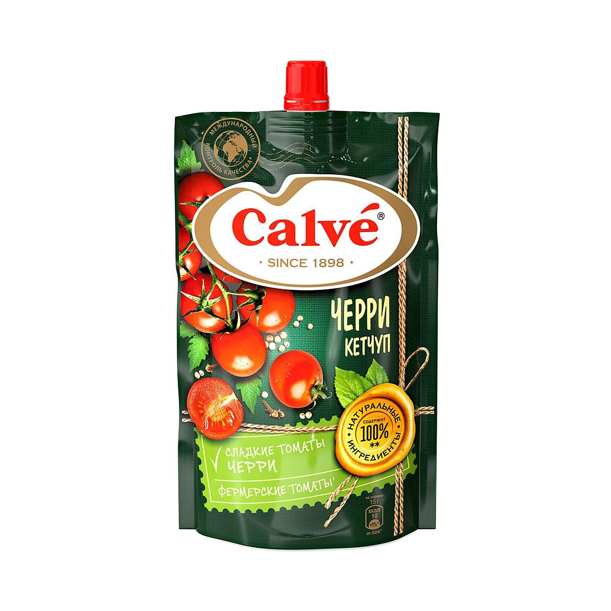 Кетчуп Calve с помидорами Черри 350 г термос calve kinder в ассортименте
