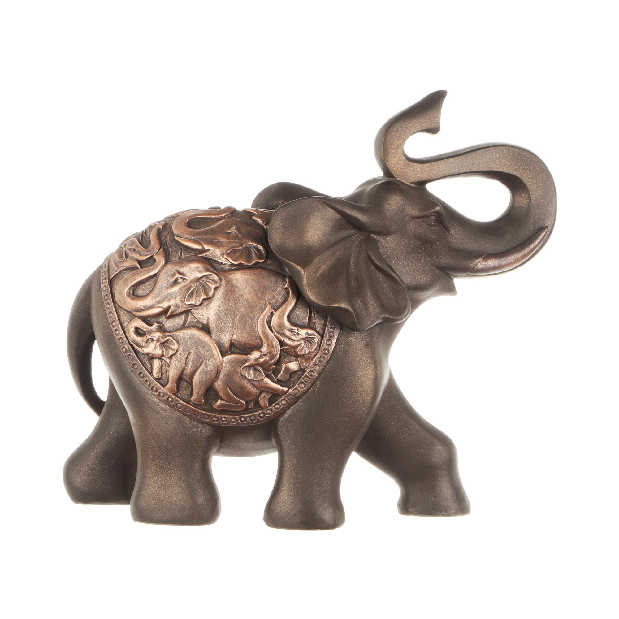 Фигура декоративная Wanlong слон 36х15х30см