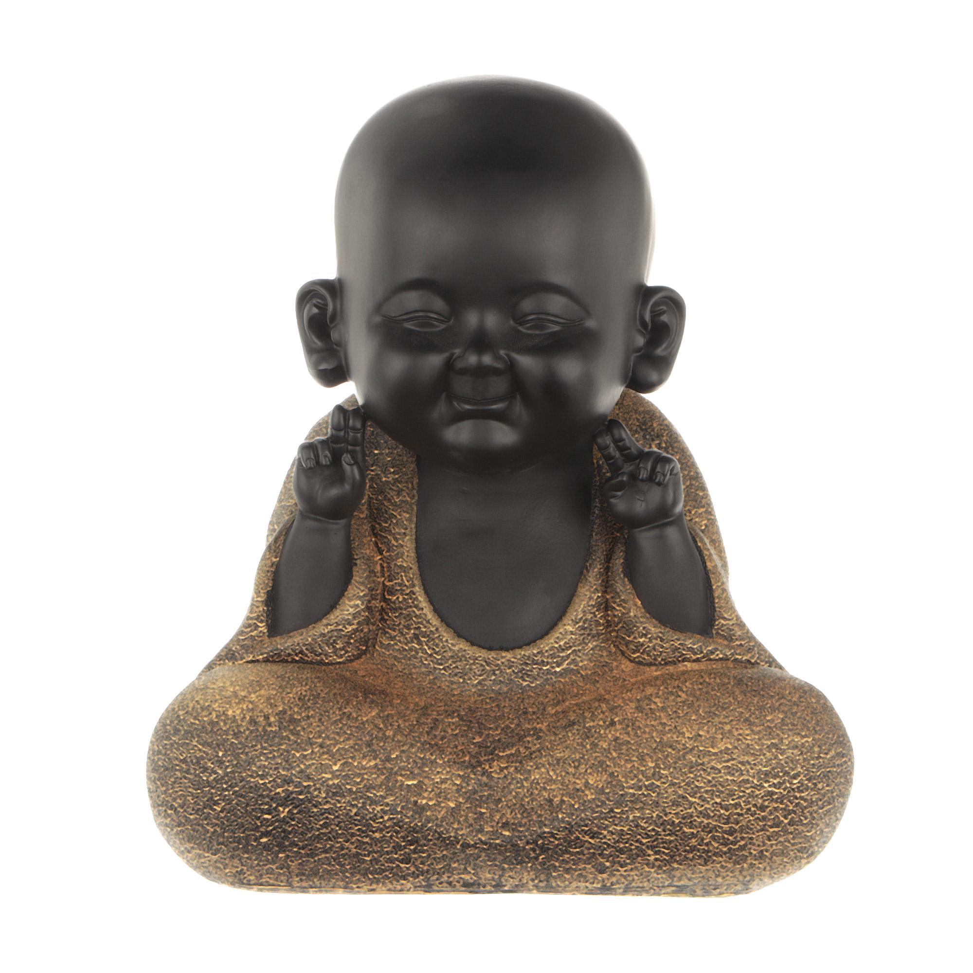 Фигура декоративная Wanlong будда 26.5х19х30.5см