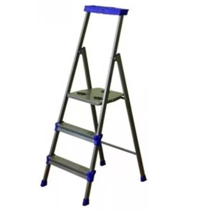 Стремянка стальная Slk 3 ступени стремянка стальная zalger 3 ступени