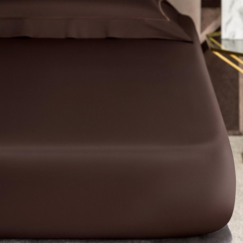 Фото - Простыня Togas Рапсодия коричневая 200х230 пододеяльник togas рапсодия коричневая 220х240