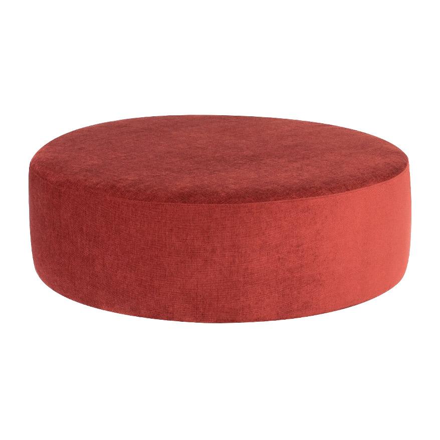 Пуф Kaemingk д.77х26см розовый пуфы