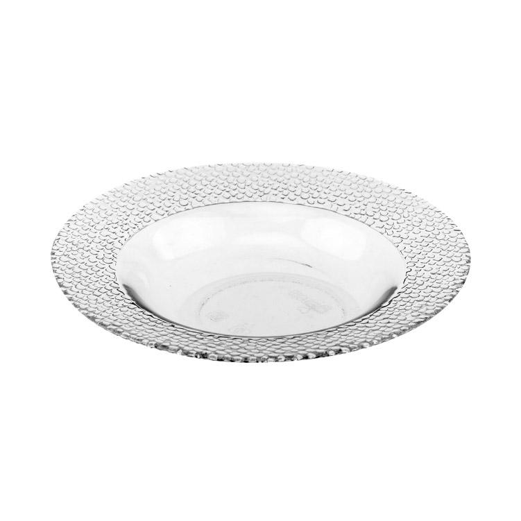 Тарелка суповая Pasabahce Mosaic Grey 21 см