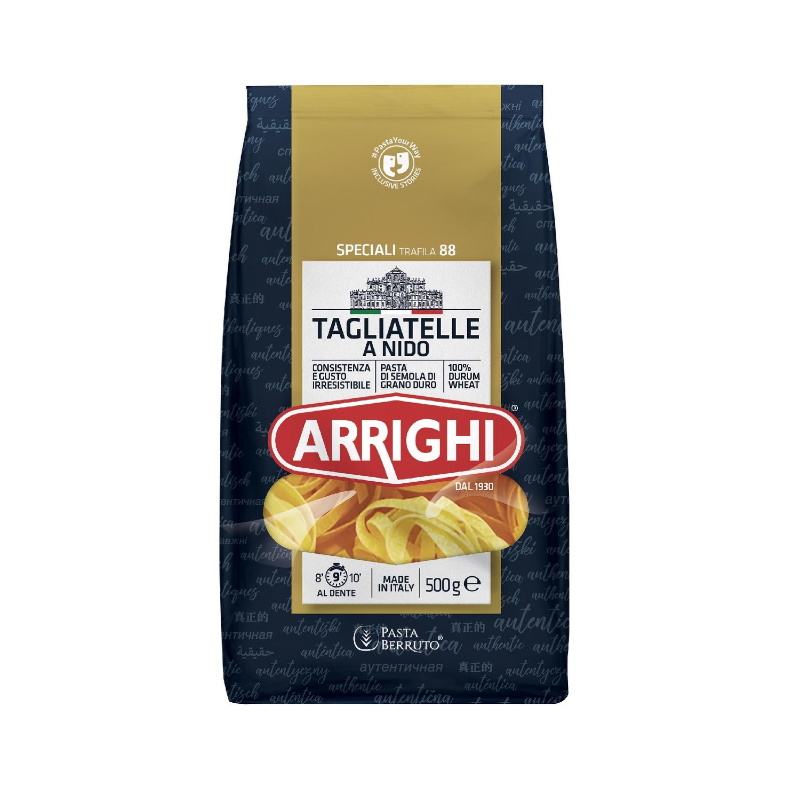 Макароны Arrighi гнезда 500 г макароны arrighi ньокетти 500 г