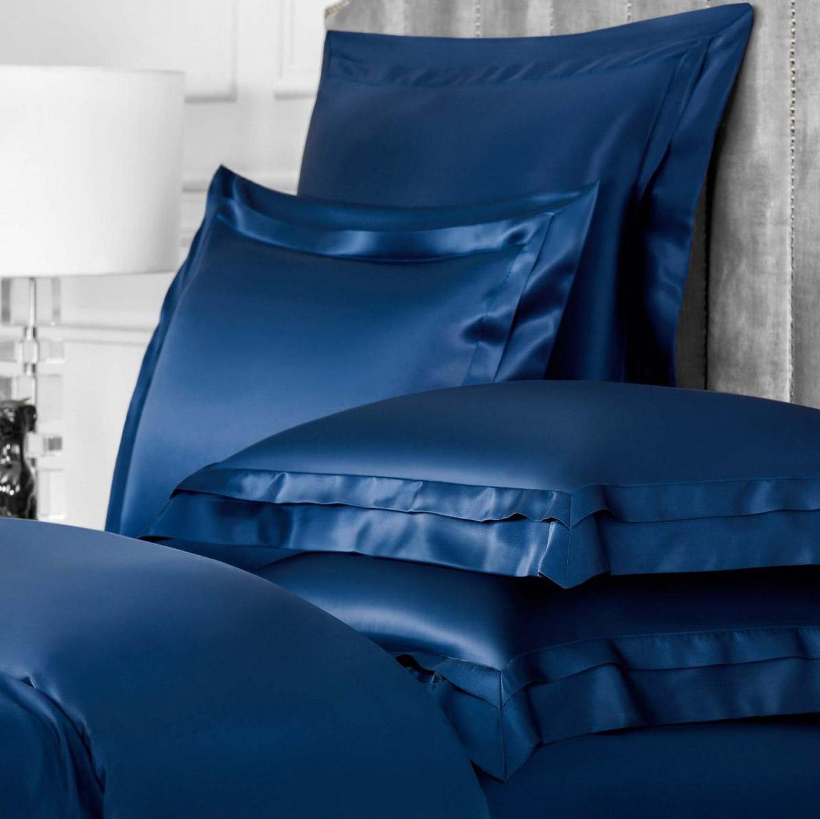 Комплект наволочек Togas Элит темно-синий 50х70. 2 пр