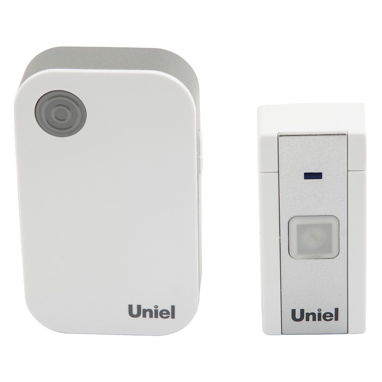 Звонок беспроводной Uniel udb-013w-r1t1-36s
