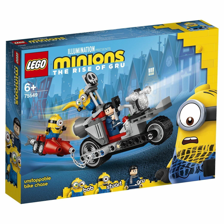 Фото - Конструктор Lego Невероятная погоня на мотоцикле 75549 конструктор lego jurassic world погоня за птеранодоном 75926