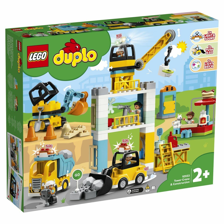 Конструктор Lego Башенный кран на стройке 10933
