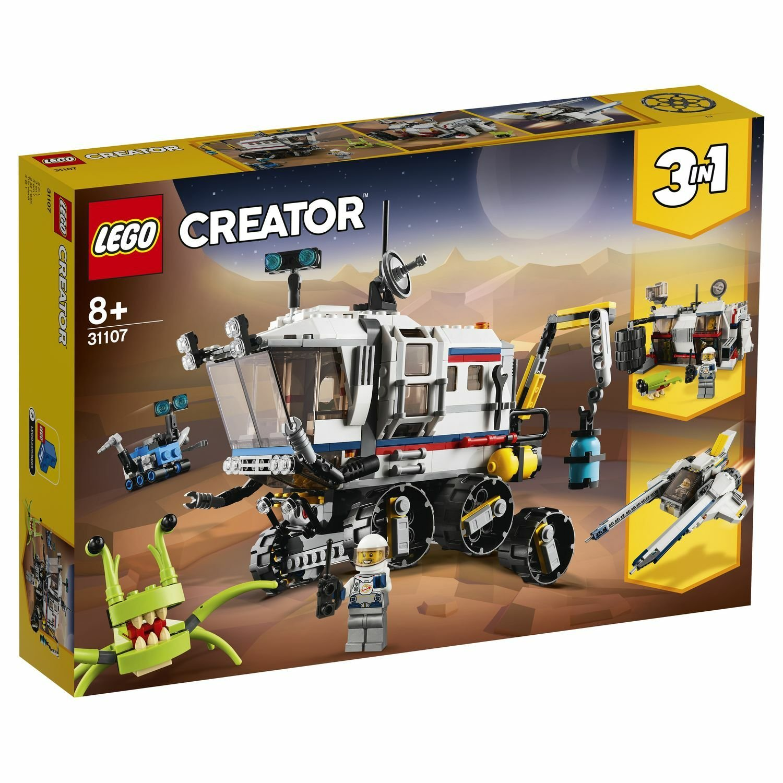 lego creator исследовательский планетоход 31107 Конструктор Lego Исследовательский планетоход 31107