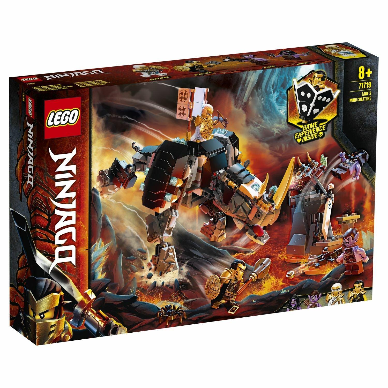 Фото - Конструктор Lego Бронированный носорог Зейна 71719 конструктор lego ninjago бронированный носорог зейна