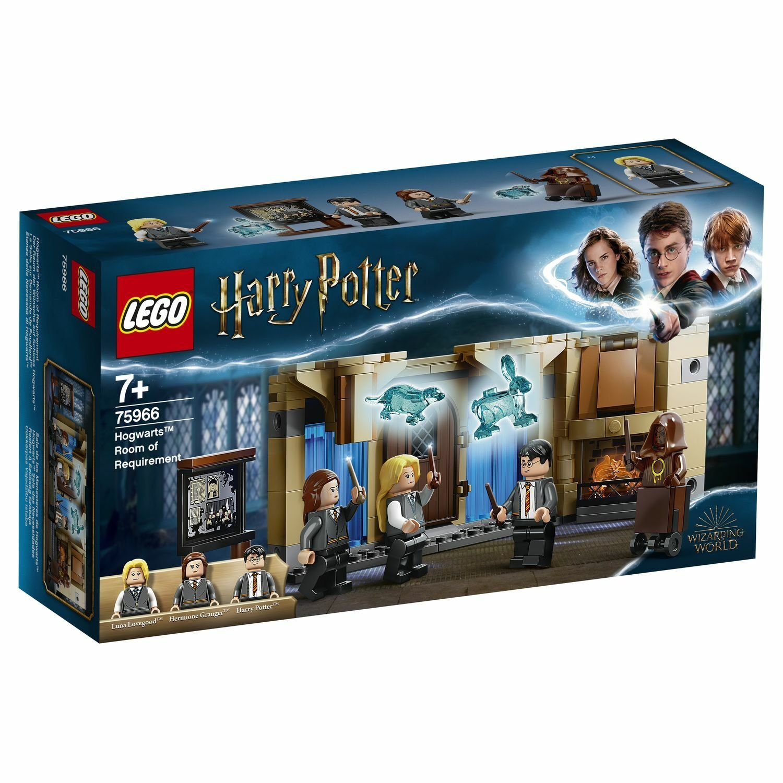 Конструктор Lego Выручай-комната Хогвартса 75966 конструктор lego harry potter tm 75966 выручай комната хогвартса