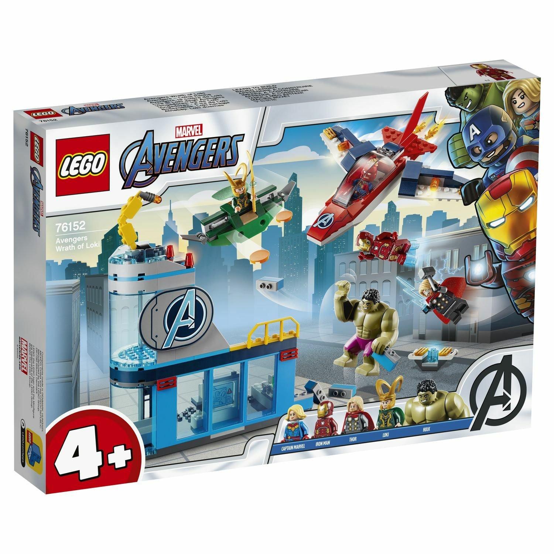Конструктор Lego Мстители: гнев Локи 76152 конструктор lno gift series 018 локи