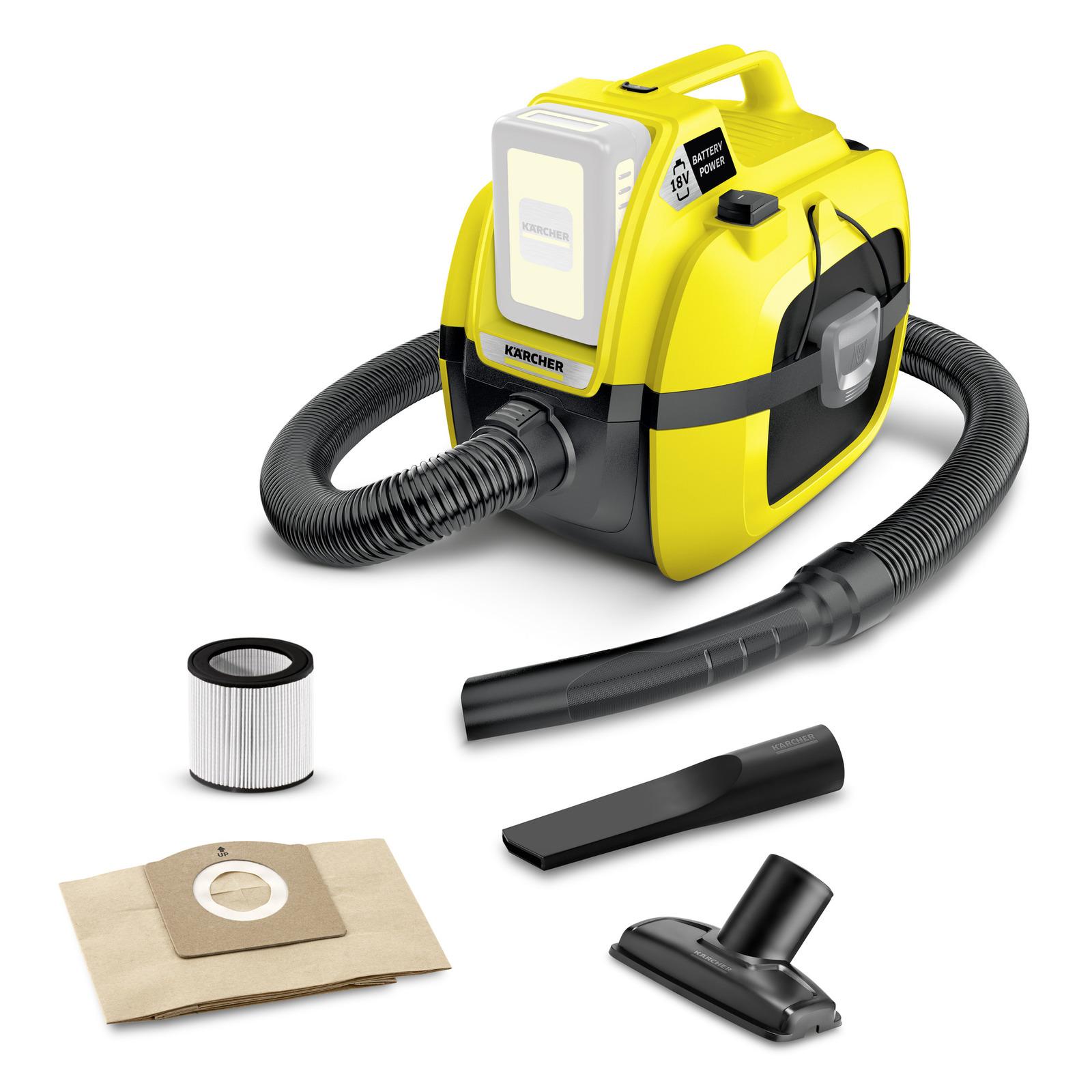 Пылесос хозяйственный Karcher wd 1 compact battery пылесос karcher wd 4 premium 1 348 150 0