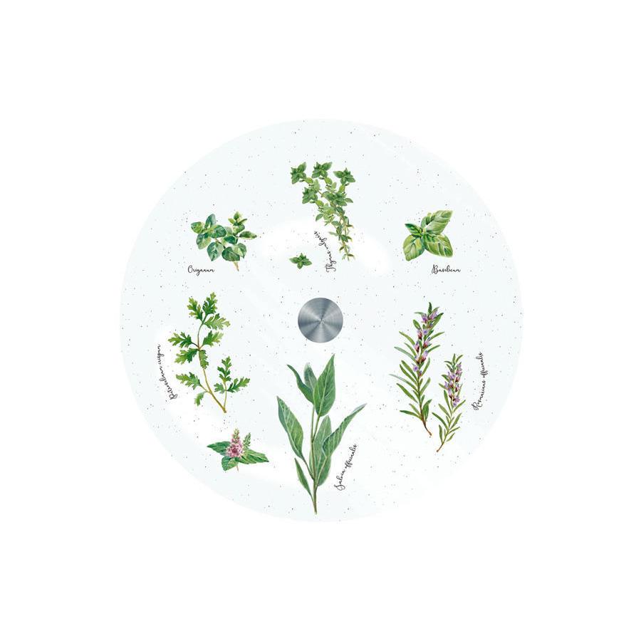 Блюдо вращающееся Easy Life Herbarium 32 см блюдо для торта nuova r2s подарки вращающееся диаметр 32 см