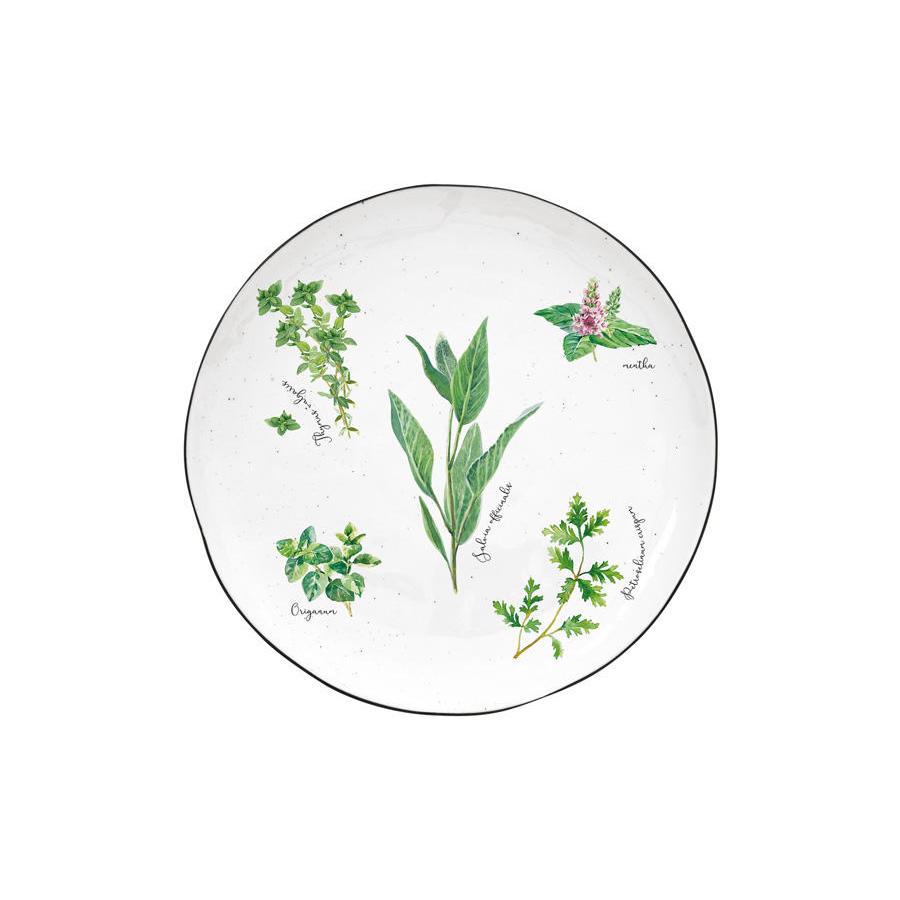 Тарелка закусочная Easy Life Herbarium 21 см