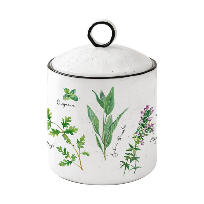 Банка для сыпучих продуктов Easy Life Herbarium 10,5х15,5 см банка для кофе easy life время кофе 21 х 13 х 8 см