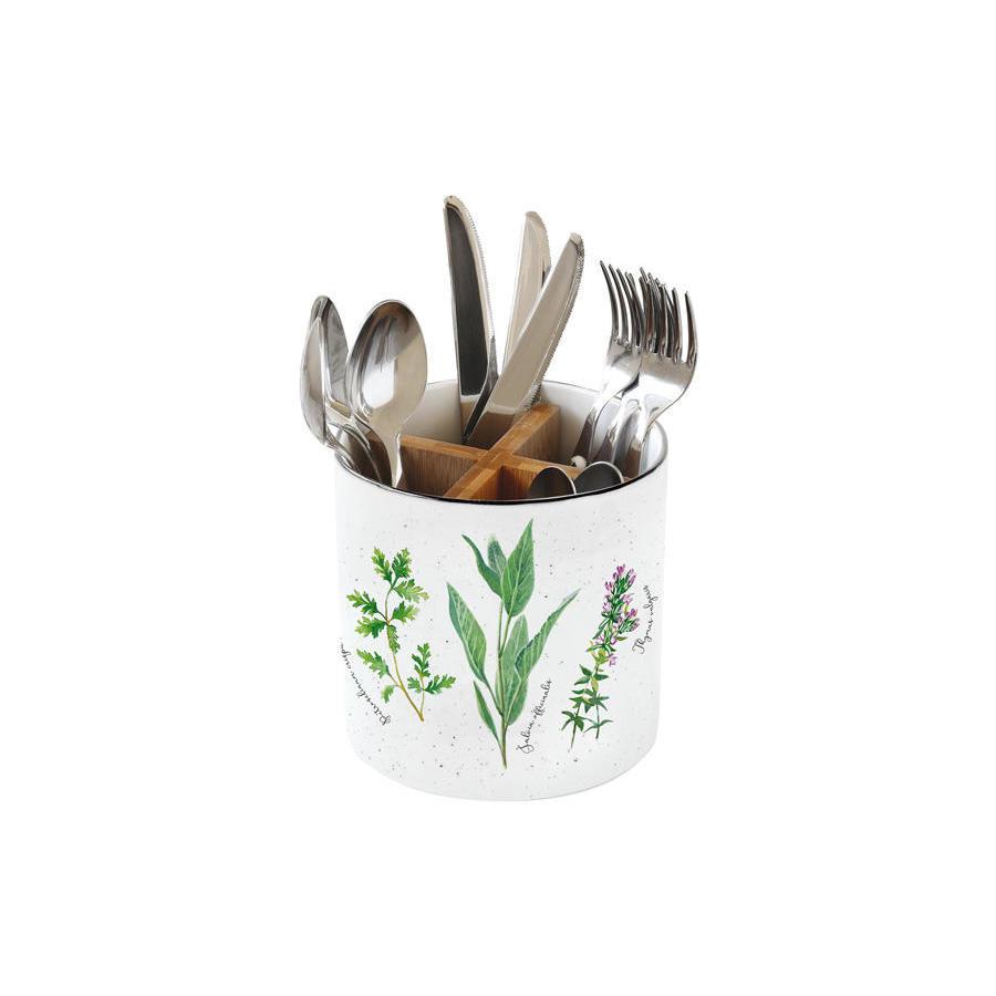Подставка для кухонных приборов Easy Life Herbarium подставка для кухонных инструментов polystar collection джем 9 5х14 26 см