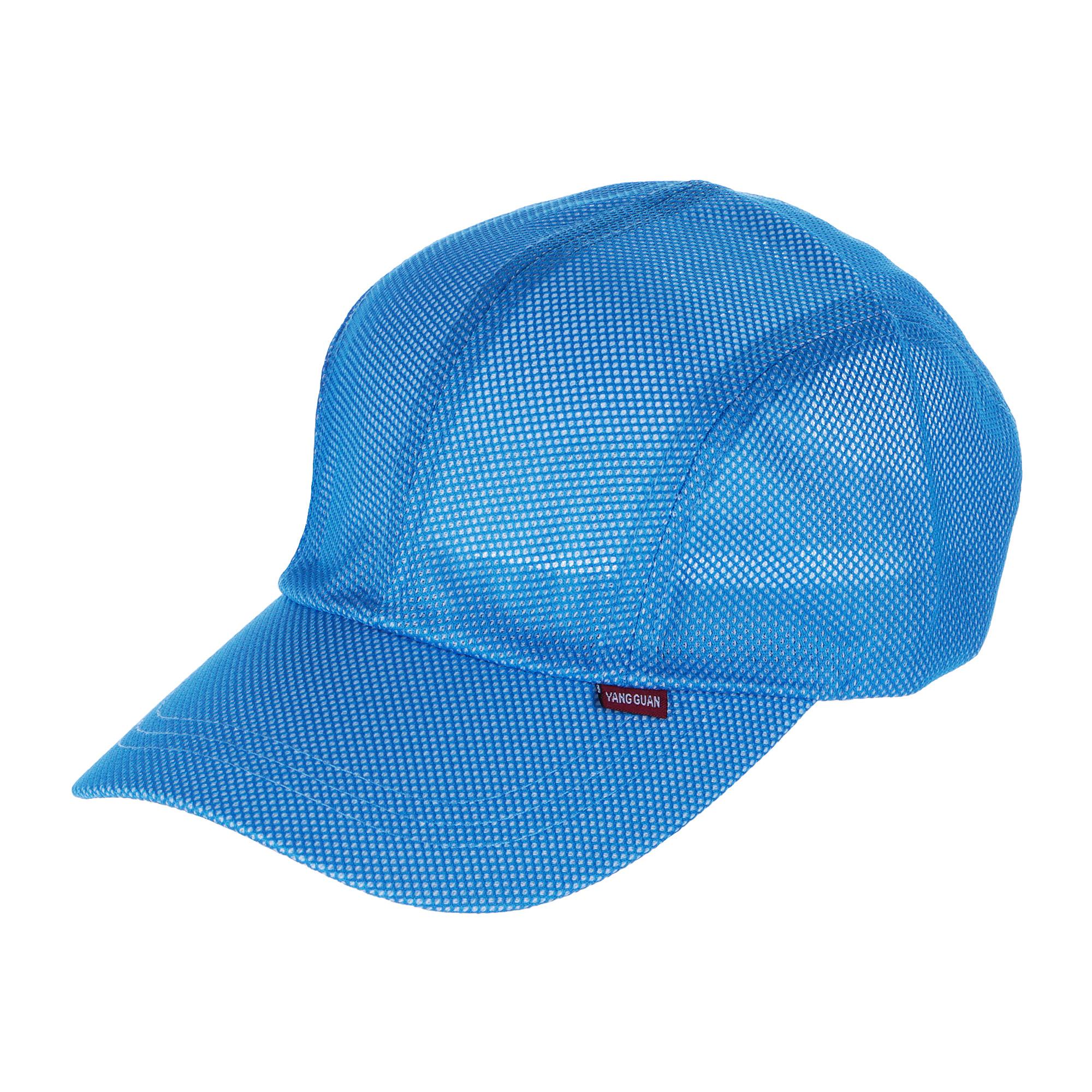 Бейсболка с сеткой Zhejiang Yining светло-синяя 58 см