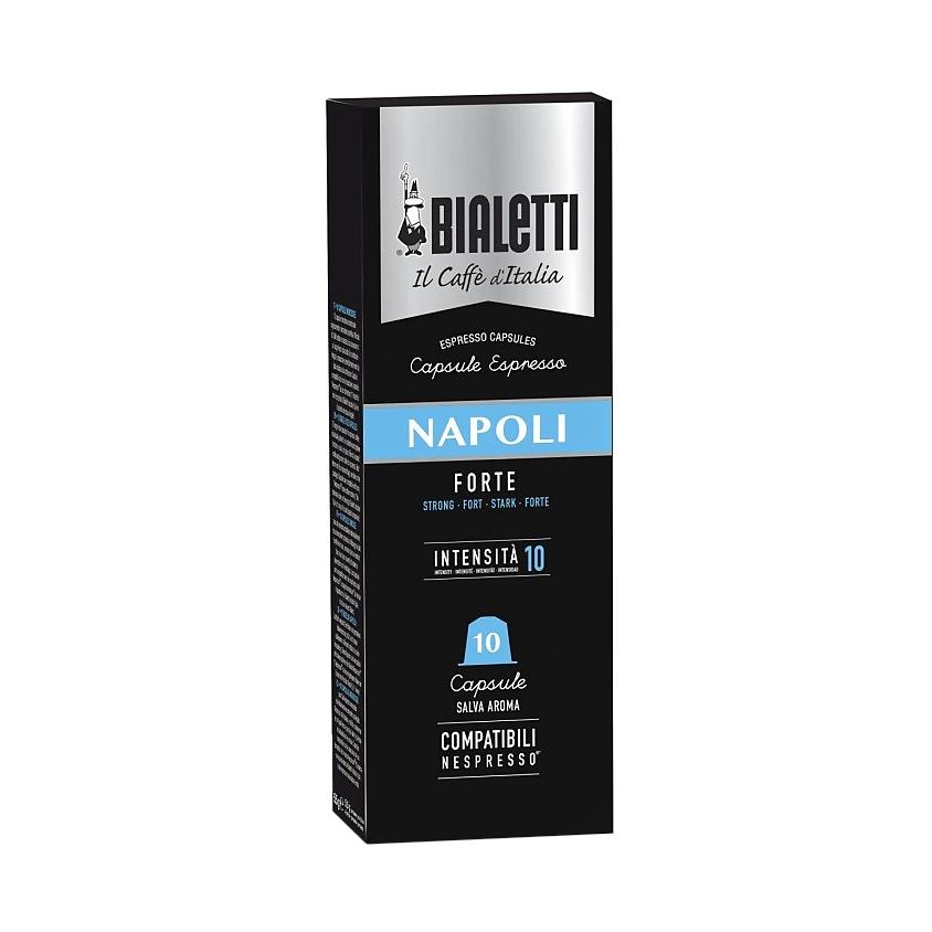 Кофе в капсулах Bialetti Napoli Nespresso 10 шт кофе в капсулах для кофемашин nespresso bialetti napoli 10шт