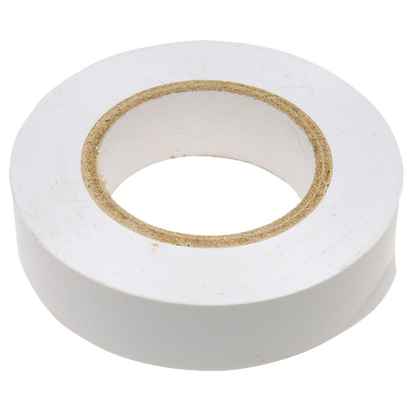Изолента Сибртех ПВХ, 19 мм х 20 м, белая недорого