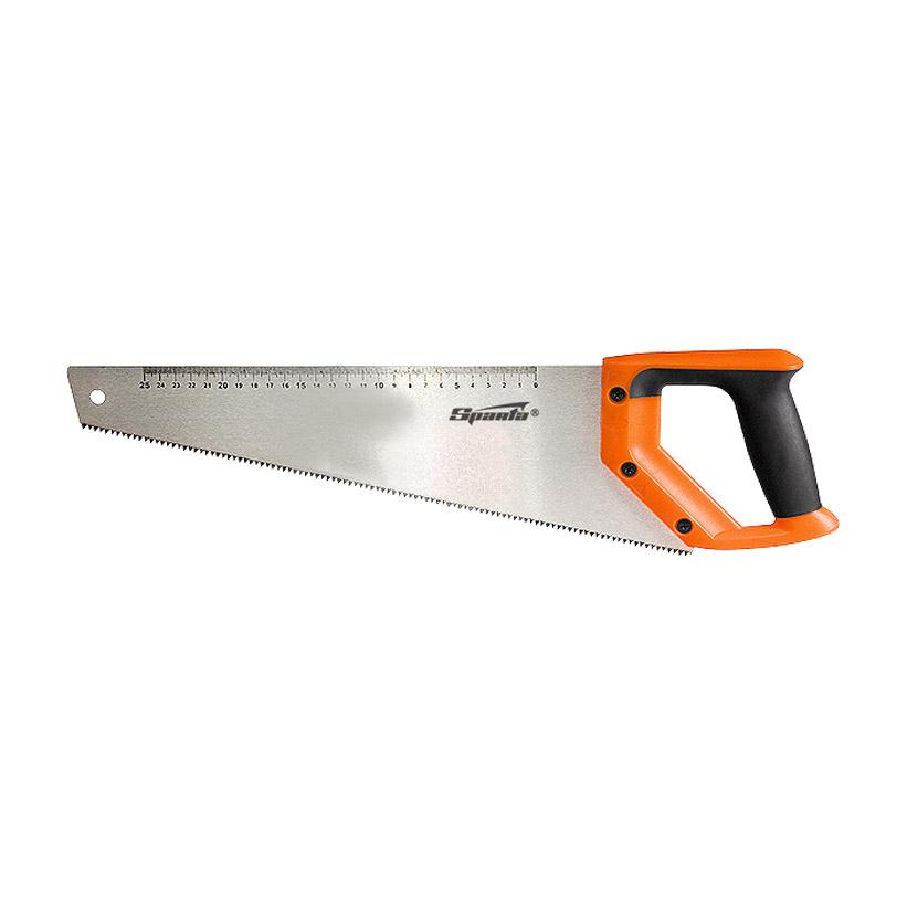 Фото - Ножовка по дереву Sparta 500 мм, 7-8 TPI, зуб-2D, каленый зуб, линейка ножовка по дереву jcb jsw003