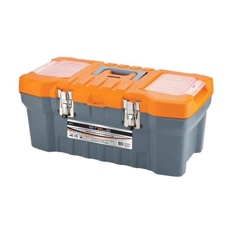 Ящик для инструмента Stels с мет. замками (20) 22 х 26 51 см