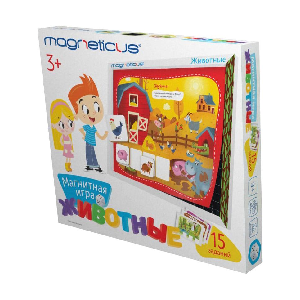 Настольная игра Magneticus Животные POL-012