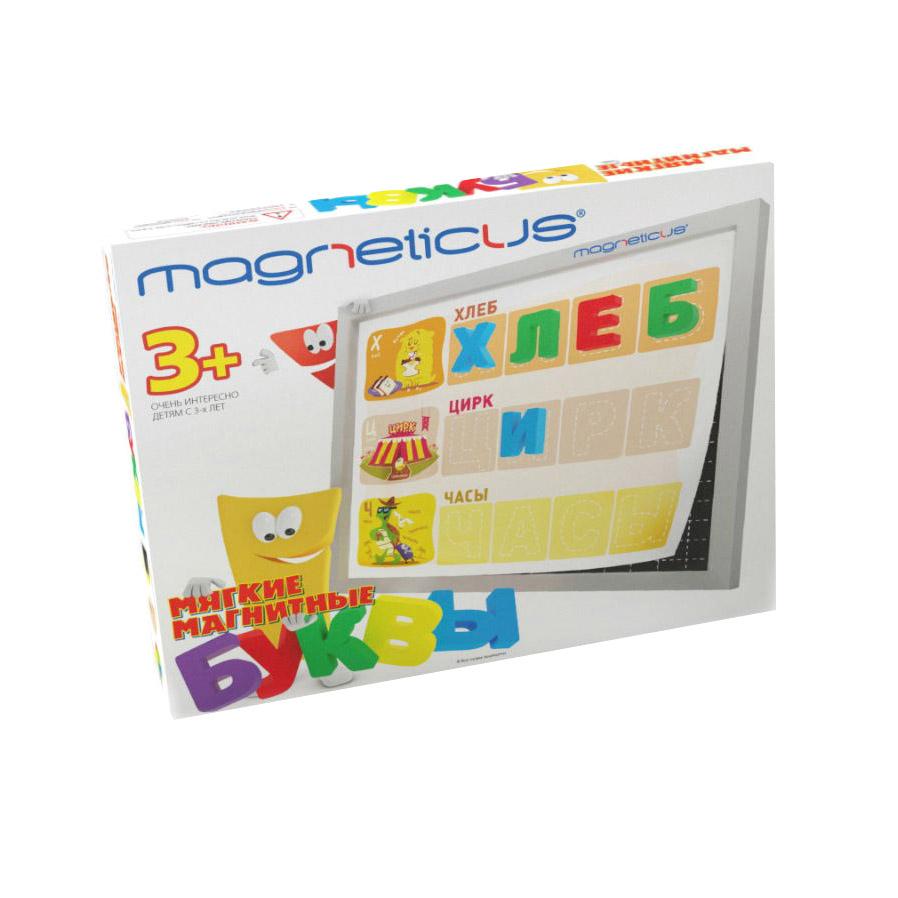 Настольная игра Magneticus Мягкая магнитная азбука Буквы и Звуки OBU-004
