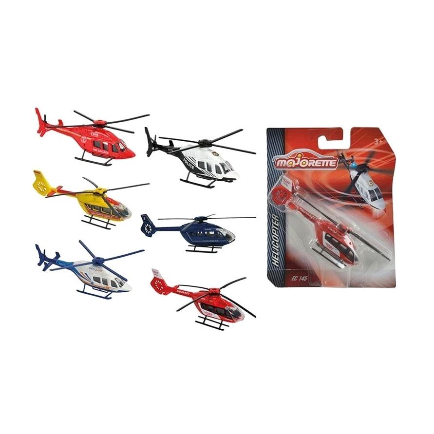 Коллекция вертолетов Majorette 6 видов