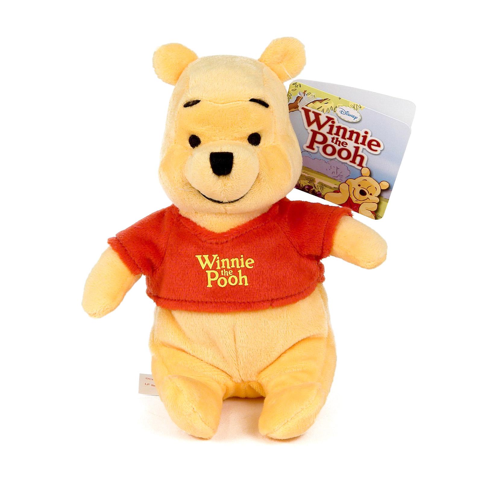 Мягкая игрушка Nicotoy Медвежонок Винни 20 см.