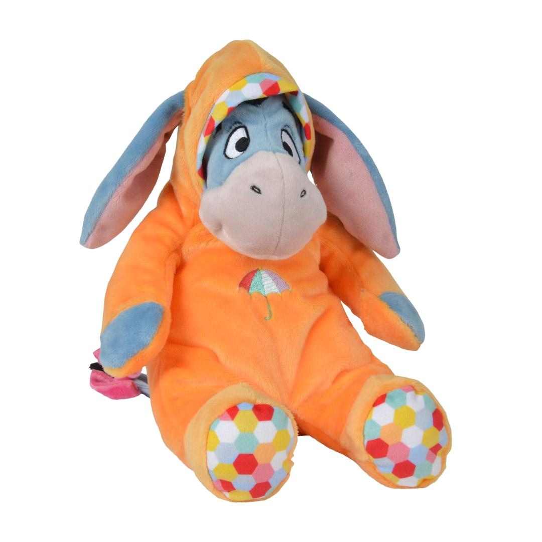 Мягкая игрушка Nicotoy Ушастик в комбинезоне 25 см.