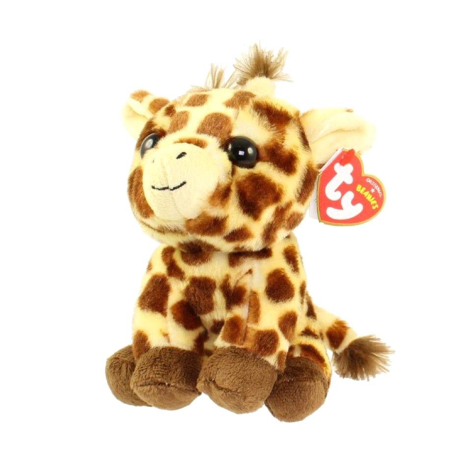 Мягкая игрушка TY Жираф Peaches 25 см