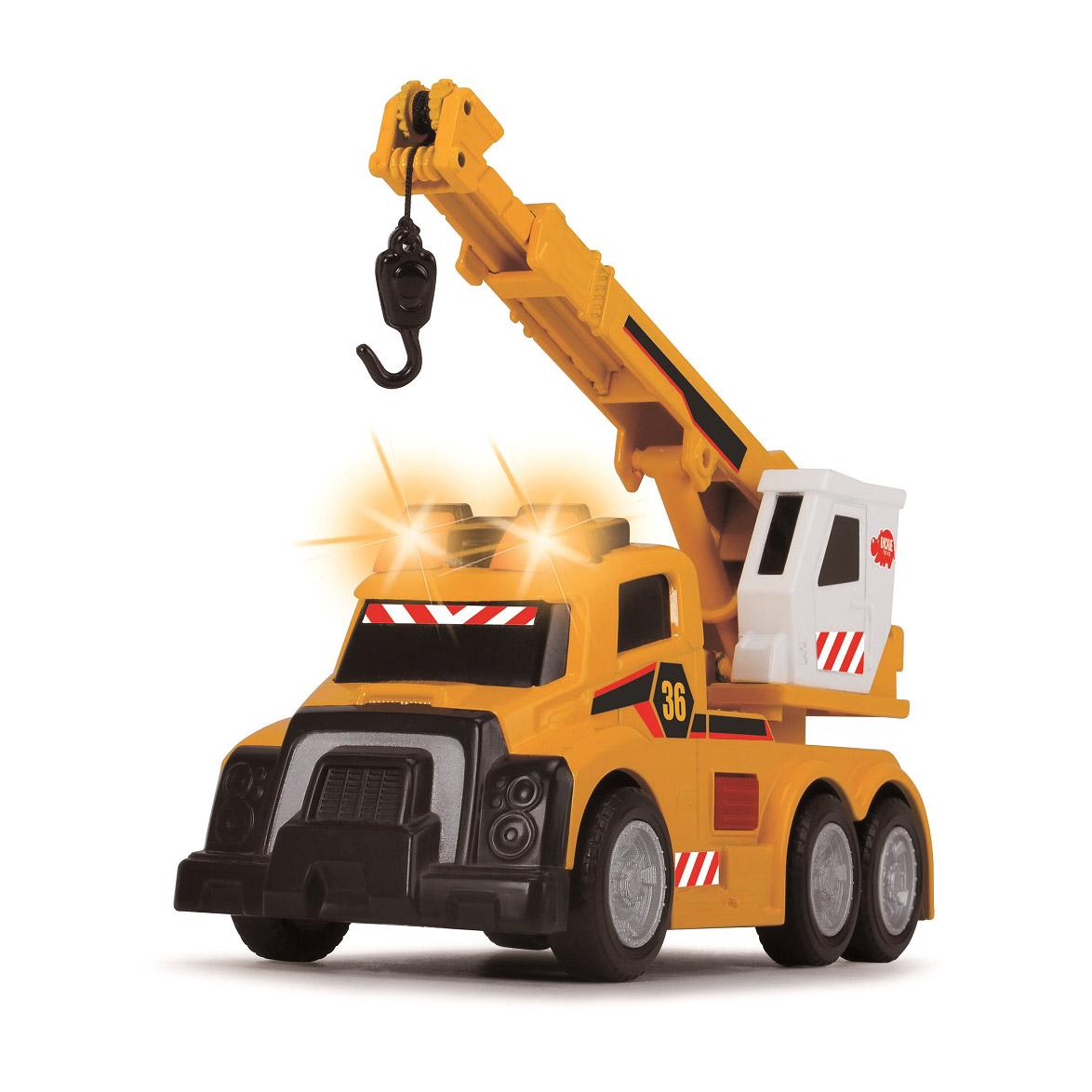 Машина Dickie Toys Mobile Crane 15 см машина dickie мусоровоз 30 см