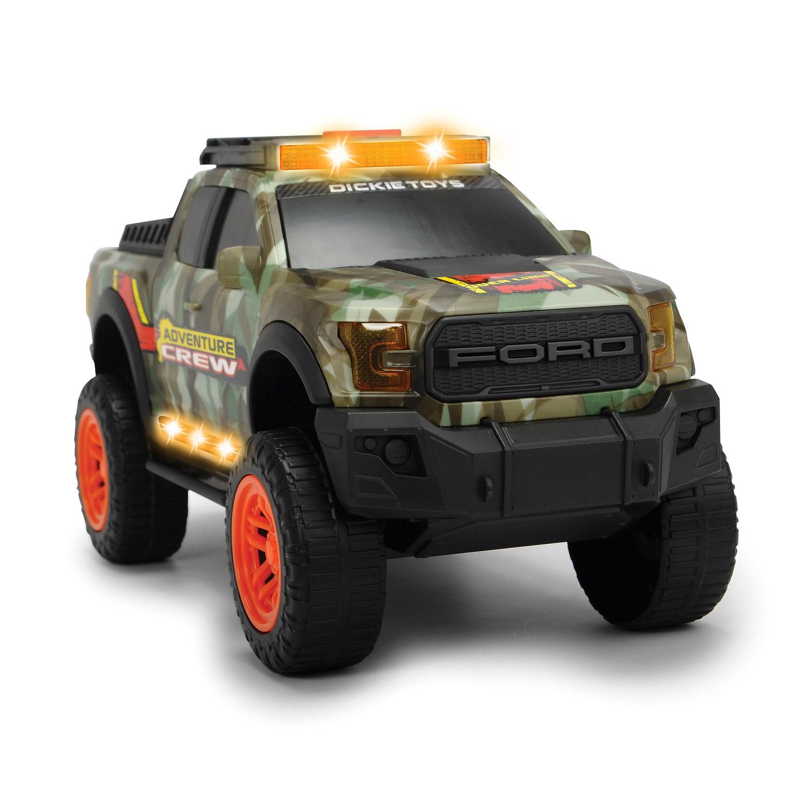 Машинка Dickie Toys Adventure Ford F150 Raptor 33 см