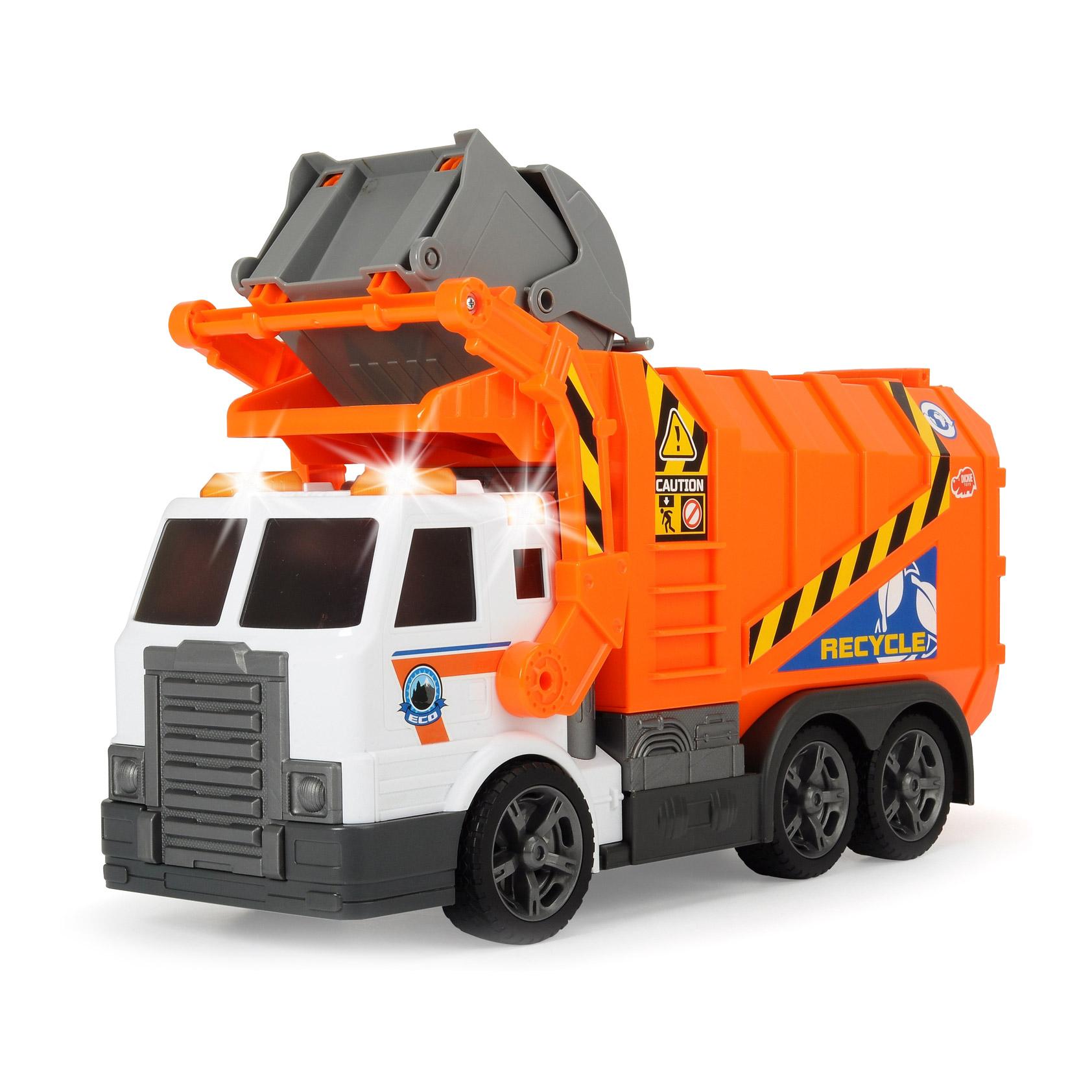 Мусоровоз Dickie 41 см машина dickie мусоровоз 30 см
